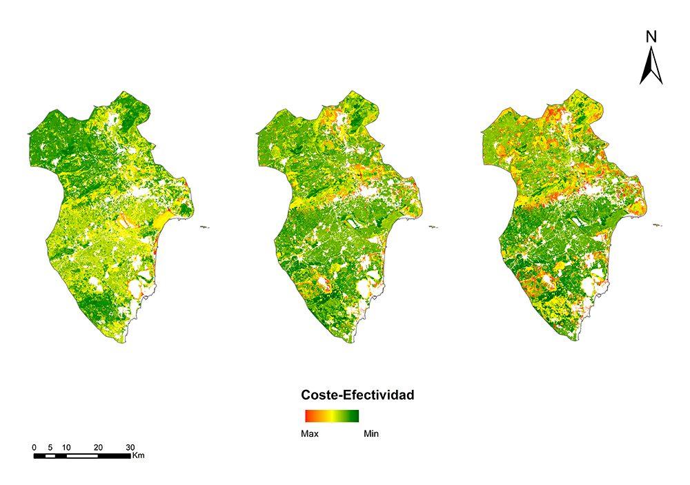 Mapa de Coste Efectividad Con Mantenimiento
